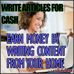 write for money from home